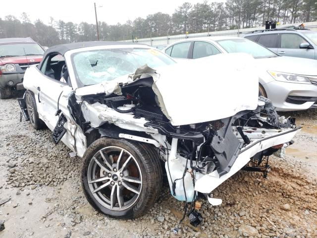 Salvage cars for sale from Copart Ellenwood, GA: 2017 Ford Mustang