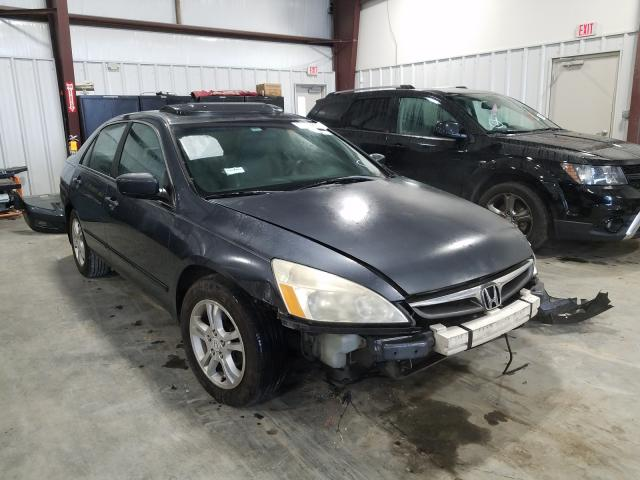 Salvage cars for sale from Copart Byron, GA: 2007 Honda Accord EX