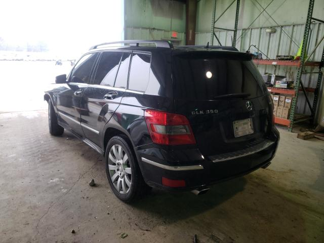 2011 MERCEDES-BENZ GLK 350 4M - Right Front View