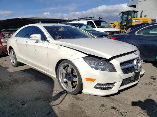 Salvage cars for sale from Copart Hayward, CA: 2014 Mercedes-Benz CLS 550