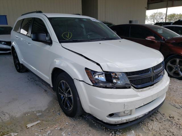 Salvage cars for sale from Copart Homestead, FL: 2018 Dodge Journey SE