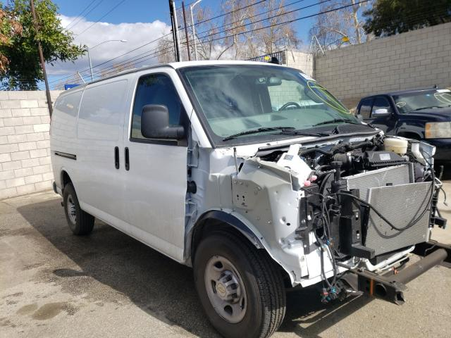 Salvage cars for sale from Copart Colton, CA: 2020 Chevrolet Express G2