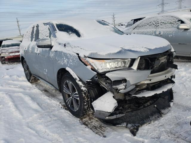 Salvage cars for sale from Copart Elgin, IL: 2017 Acura MDX