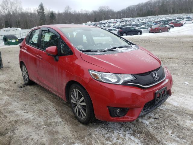 Salvage cars for sale from Copart West Warren, MA: 2015 Honda FIT EX