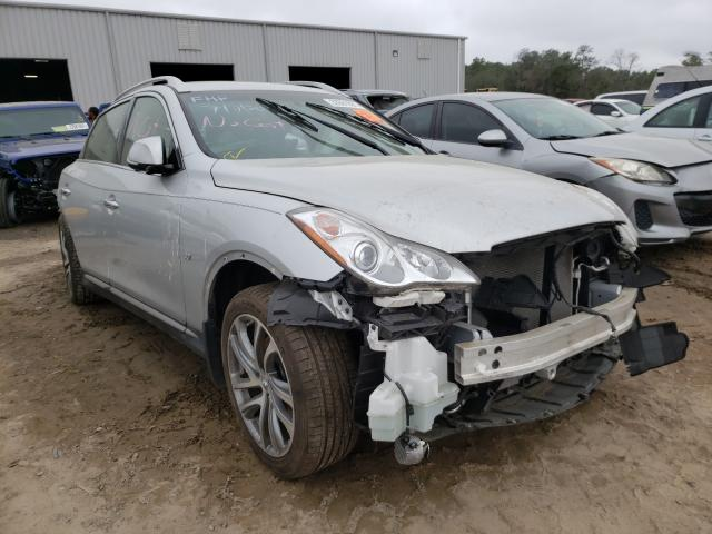 Salvage cars for sale at Jacksonville, FL auction: 2017 Infiniti QX50