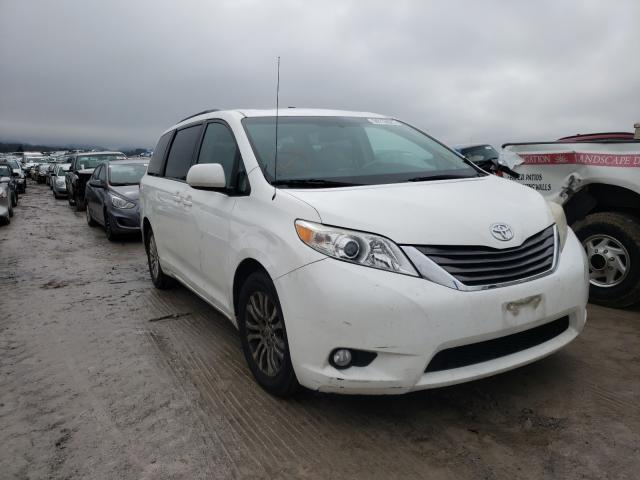 Salvage cars for sale from Copart Madisonville, TN: 2011 Toyota Sienna XLE