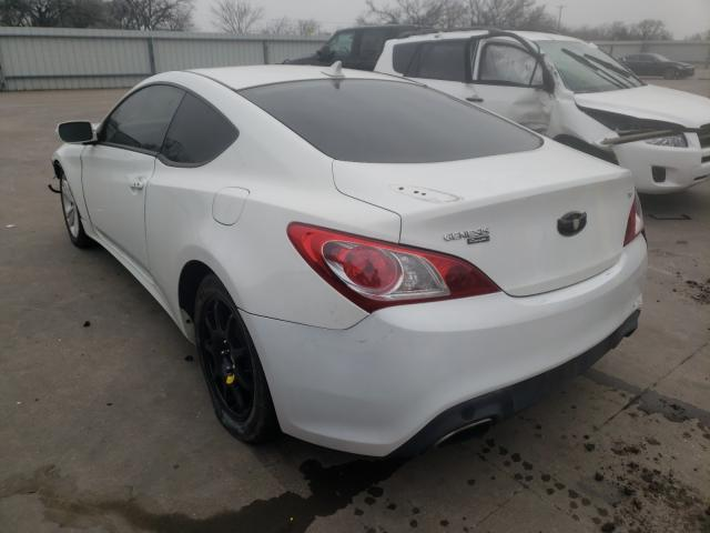 2012 HYUNDAI GENESIS CO - Right Front View