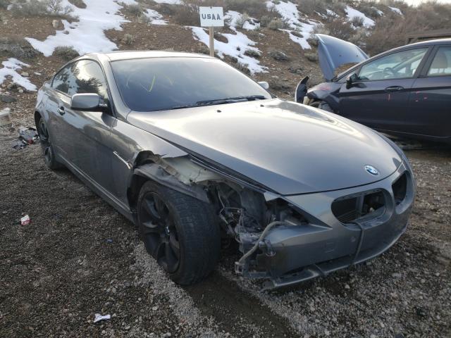 BMW salvage cars for sale: 2005 BMW 645 CI AUT