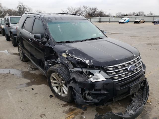 Vehiculos salvage en venta de Copart Wilmer, TX: 2017 Ford Explorer X