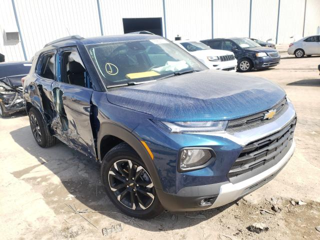 Chevrolet Trailblazer salvage cars for sale: 2021 Chevrolet Trailblazer