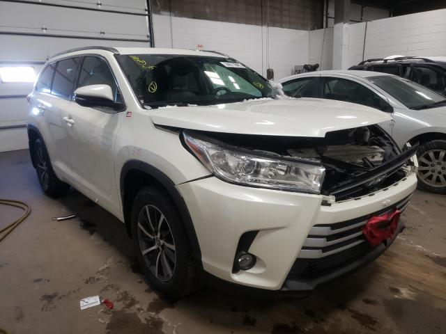 Toyota salvage cars for sale: 2018 Toyota Highlander