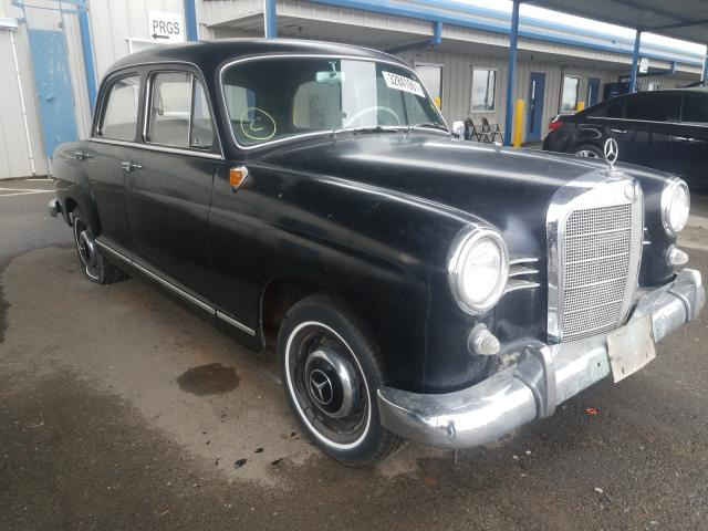 Salvage cars for sale from Copart Sacramento, CA: 1961 Mercedes-Benz 190D