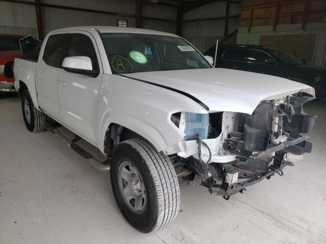 Salvage cars for sale from Copart Haslet, TX: 2018 Toyota Tacoma DOU