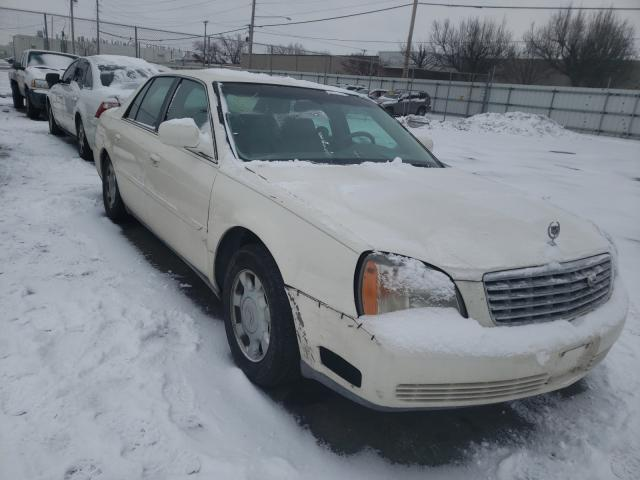 Salvage cars for sale from Copart Moraine, OH: 2002 Cadillac Deville