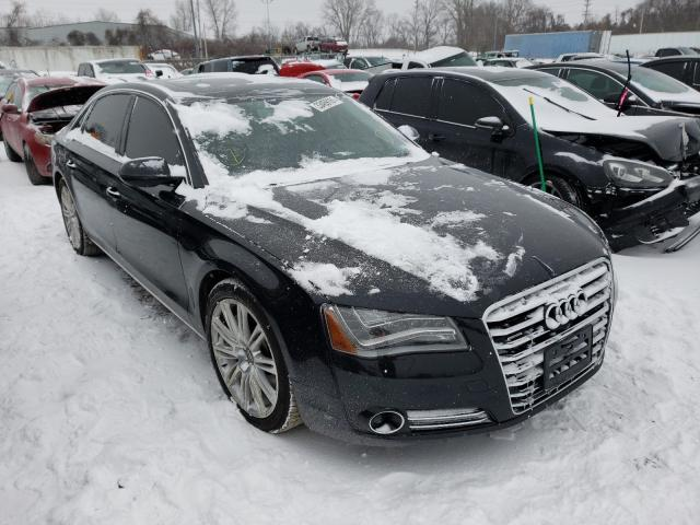Salvage cars for sale from Copart Bridgeton, MO: 2014 Audi A8 L Quattro