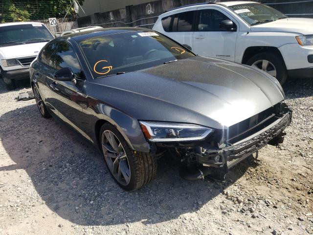Salvage cars for sale from Copart Opa Locka, FL: 2019 Audi A5 Premium