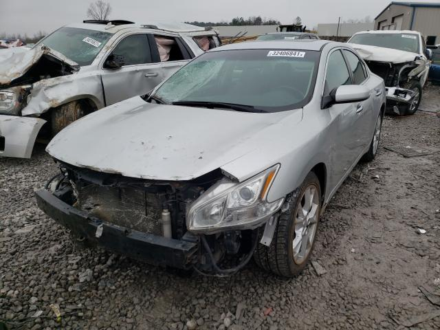 2014 NISSAN MAXIMA S - Left Front View