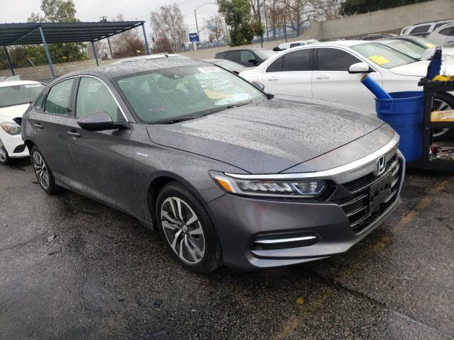 Salvage cars for sale from Copart Colton, CA: 2020 Honda Accord Hybrid