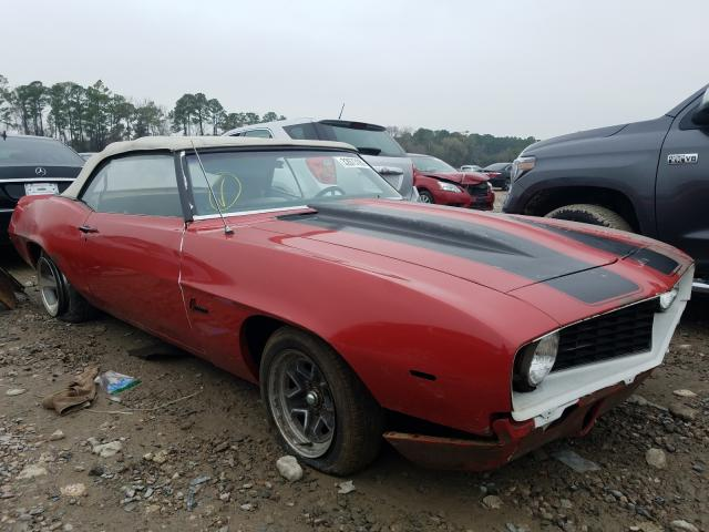 1969 Chevrolet Camaro en venta en Houston, TX