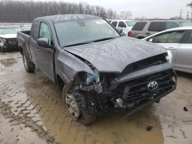 Salvage cars for sale from Copart Hampton, VA: 2020 Toyota Tacoma ACC