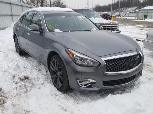 Salvage cars for sale from Copart West Mifflin, PA: 2015 Infiniti Q70 3.7