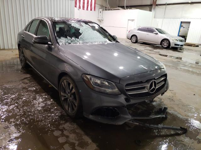 Salvage cars for sale from Copart Tulsa, OK: 2017 Mercedes-Benz C300