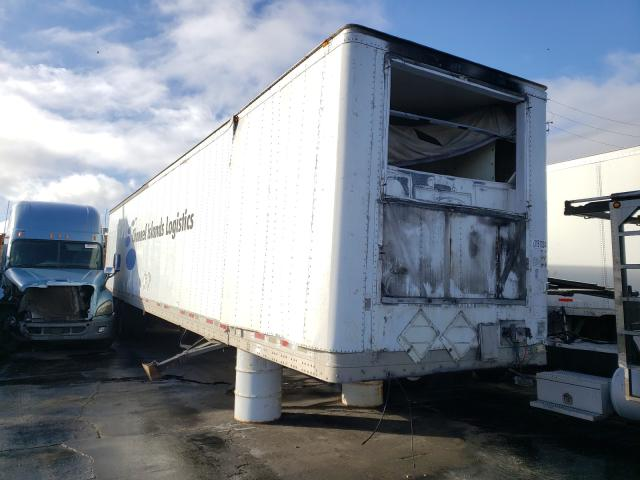 Salvage cars for sale from Copart Wilmington, CA: 2007 Wabash Trailer