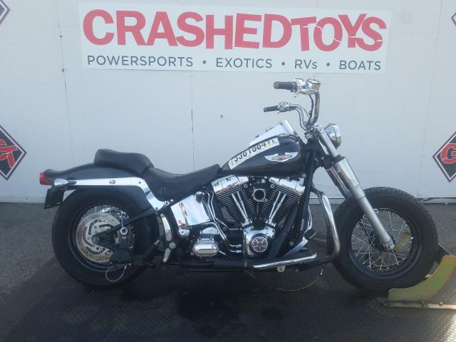 Salvage cars for sale from Copart Van Nuys, CA: 2005 Harley-Davidson Flstni
