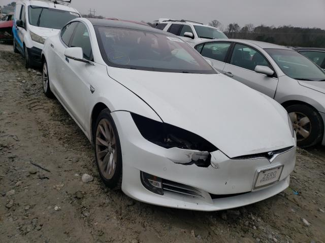 Salvage cars for sale from Copart Loganville, GA: 2017 Tesla Model S