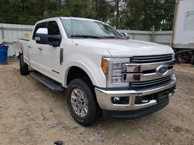 Salvage cars for sale from Copart Midway, FL: 2018 Ford F250 Super