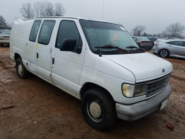 Salvage cars for sale from Copart China Grove, NC: 1995 Ford Econoline
