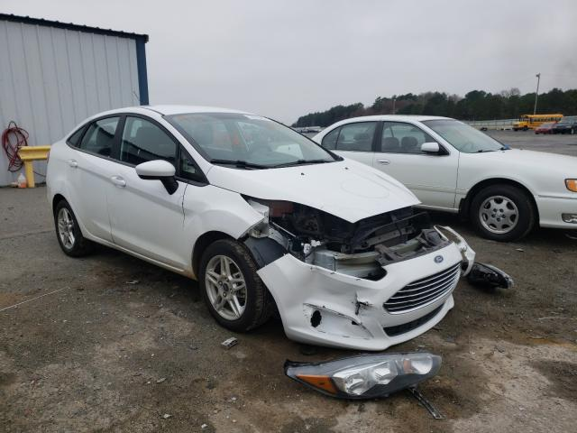 Salvage cars for sale from Copart Shreveport, LA: 2019 Ford Fiesta SE