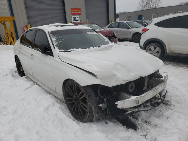Salvage cars for sale at Duryea, PA auction: 2016 BMW 340 I