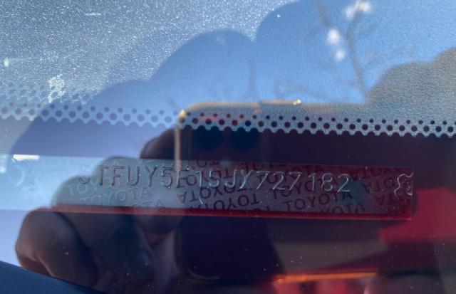 2018 Toyota TUNDRA | Vin: 5TFUY5F15JX727182