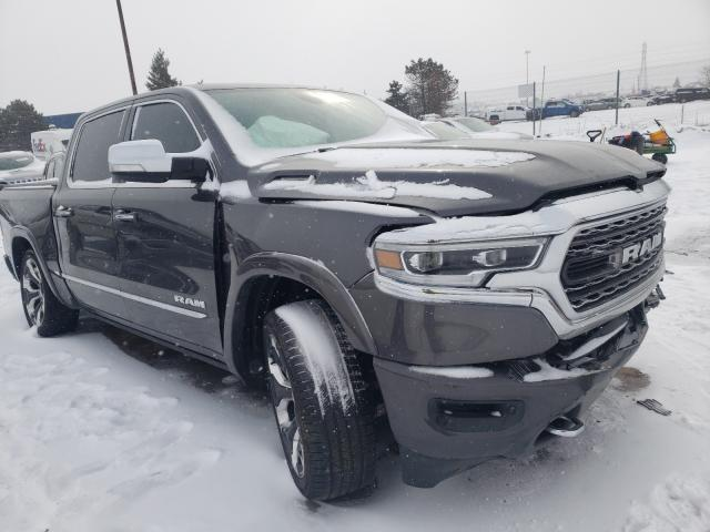 Salvage cars for sale from Copart Woodhaven, MI: 2020 Dodge RAM 1500 Limited