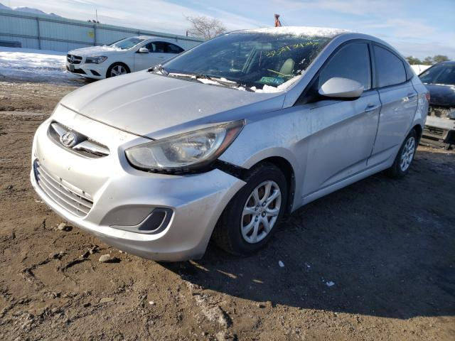 2013 HYUNDAI ACCENT - Left Front View