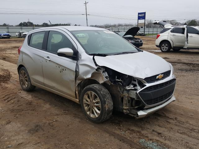 Salvage cars for sale from Copart Newton, AL: 2019 Chevrolet Spark 1LT