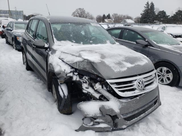 Salvage cars for sale from Copart Cudahy, WI: 2009 Volkswagen Tiguan S