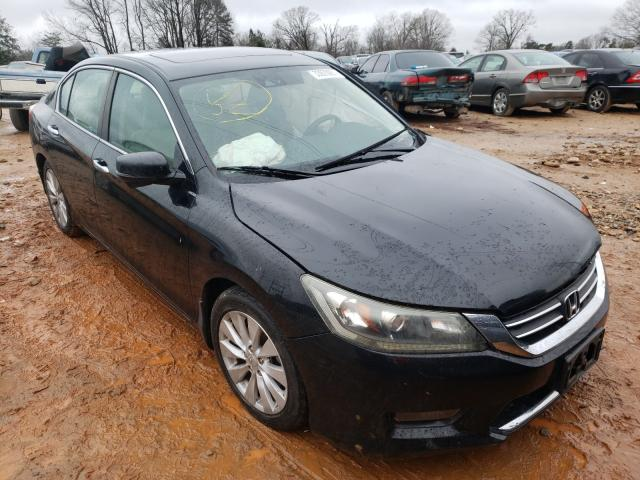 Salvage cars for sale from Copart China Grove, NC: 2014 Honda Accord EXL