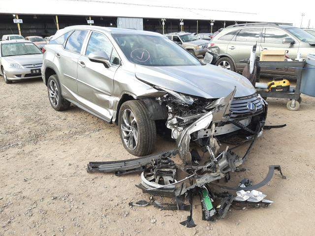 Salvage cars for sale from Copart Phoenix, AZ: 2018 Lexus RX 450H L