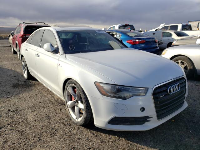 Salvage cars for sale from Copart Albuquerque, NM: 2013 Audi A6 Premium