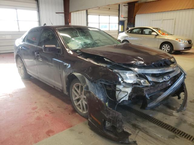 Salvage cars for sale from Copart Angola, NY: 2011 Ford Fusion SEL