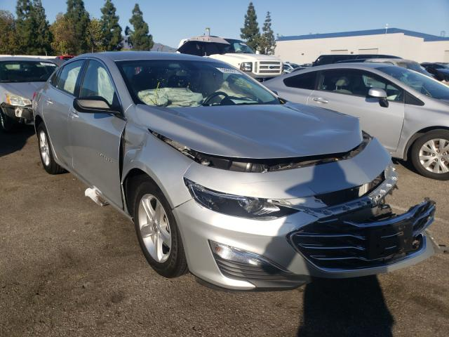 Salvage cars for sale from Copart Rancho Cucamonga, CA: 2020 Chevrolet Malibu LS