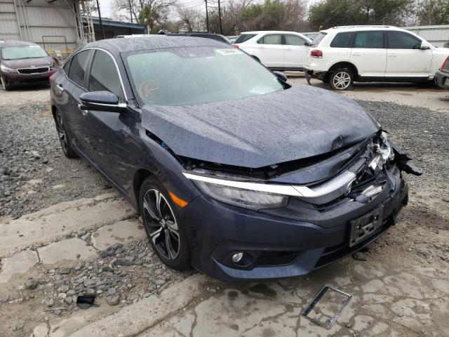 Salvage cars for sale from Copart Corpus Christi, TX: 2016 Honda Civic Touring