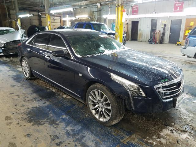 Salvage cars for sale from Copart Fort Wayne, IN: 2016 Cadillac CT6 Luxury