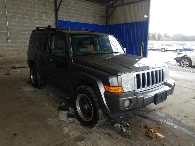 Jeep Commander salvage cars for sale: 2007 Jeep Commander