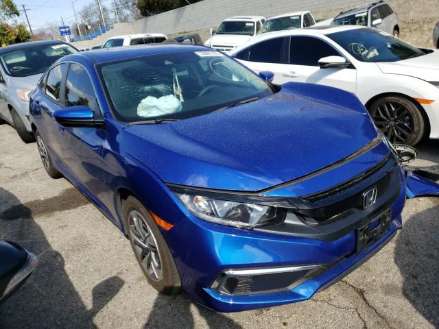 Salvage cars for sale from Copart Colton, CA: 2020 Honda Civic LX