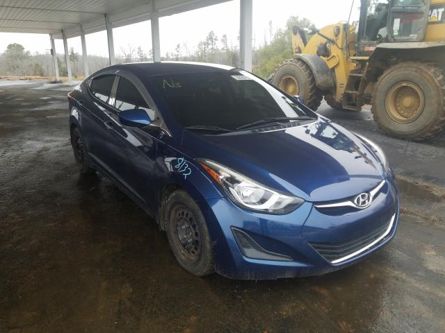 Salvage cars for sale from Copart Concord, NC: 2016 Hyundai Elantra SE