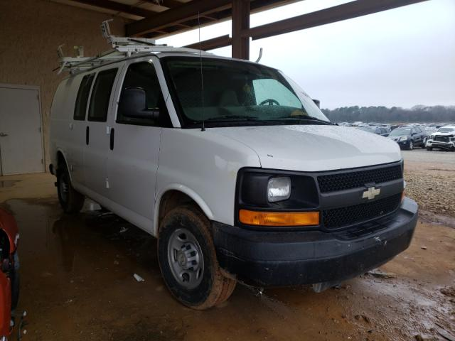 Salvage cars for sale from Copart Tanner, AL: 2008 Chevrolet Express G2