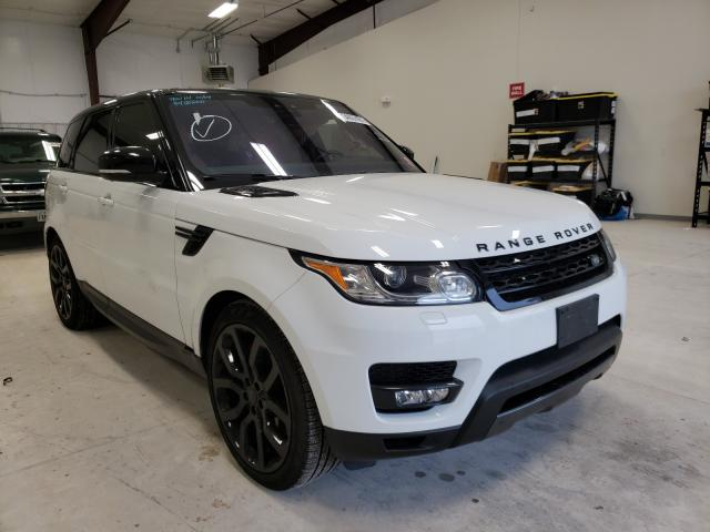 Salvage cars for sale from Copart San Antonio, TX: 2017 Land Rover Range Rover
